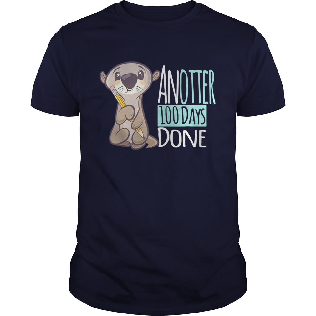 Another 100 days done shirt.