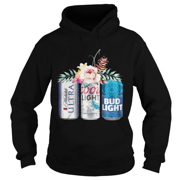 Coors Light Bud Light Michelob Ultra Beer hoodie