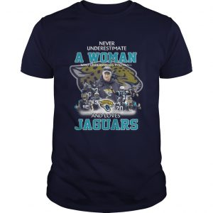 Never Underestimate a Woman Who Understands Football And Loves Jaguars unisex