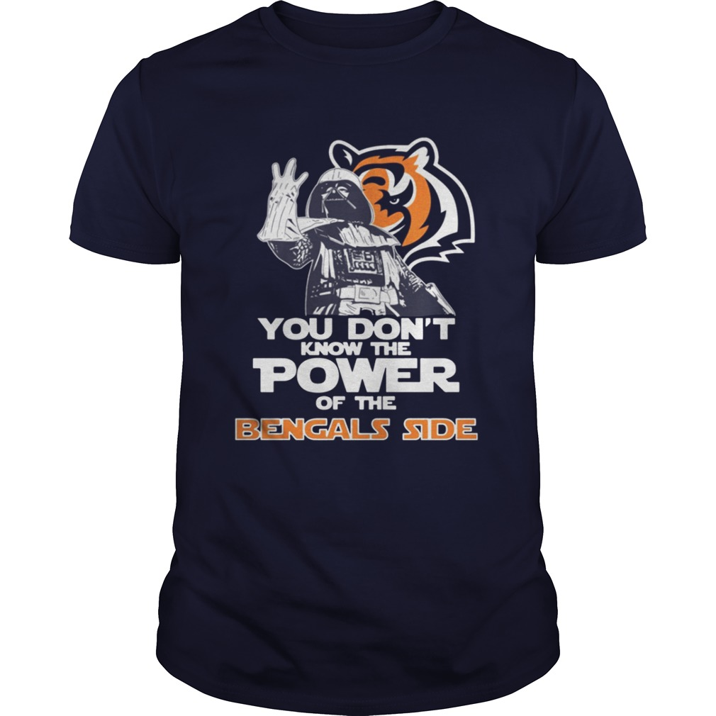 You Don't Know The Power Of The Bengals Side Football T-Shirt