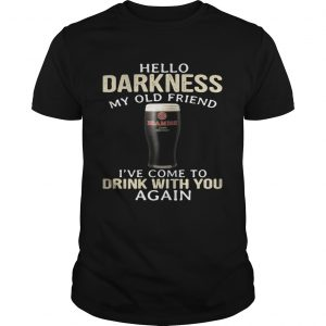 Beamish Hello Darkness My Old Friend Ive Come To Drink With You Again unisex