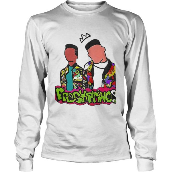 No Face The Fresh Prince and Carlton Man couple longsleeve tee