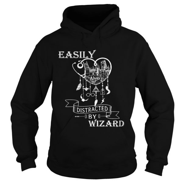 Nurse Dreamcatcher easy distracted by Wizard hoodie