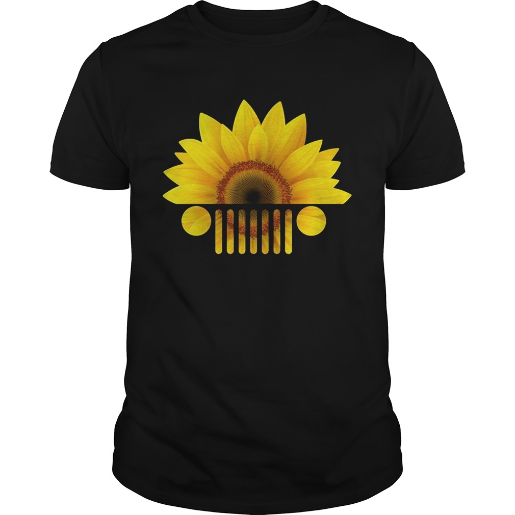 Sunflower jeep shirt
