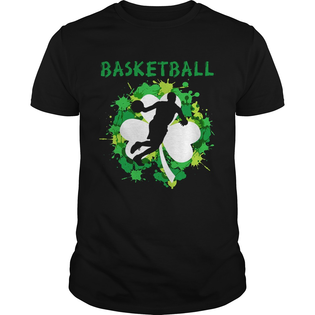 Basketball Shamrock Irish St Patty's Day Sport Shirt For Basketball Lover Shirt