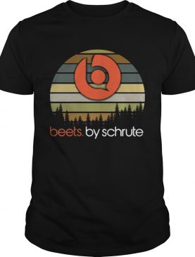 Beets By Schrute sunset shirt