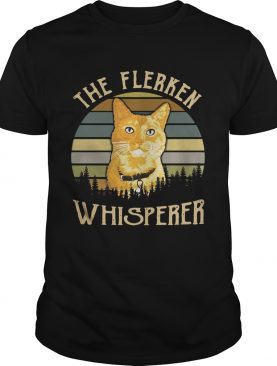 Cat the Flerken Whisperer sunset shirt