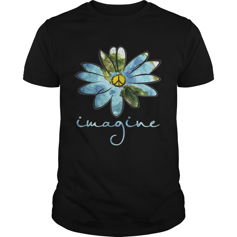 Daisy Earth Hippie imagine shirt