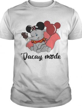 Dumbo loves Mickey Mouse vacay mode shirts