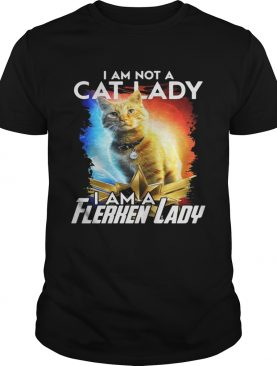 I am not cat lady I am a Flerken lady Captain Marvel shirts