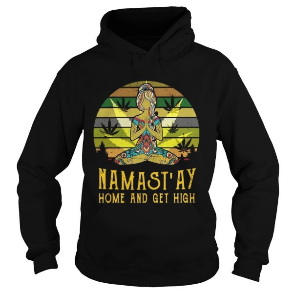 Mamastay home and get high vintage hoodie