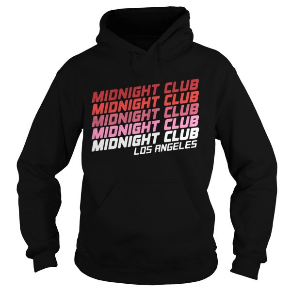 Midnight club Los Angeles hoodie