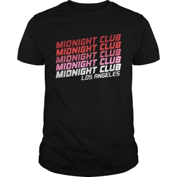Midnight club Los Angeles unisex