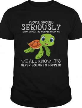 Turtle people should seriously stop expecting normal shirt