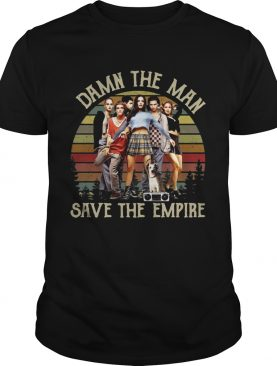 Vintage Damn The Man Save The Empire Records Shirt
