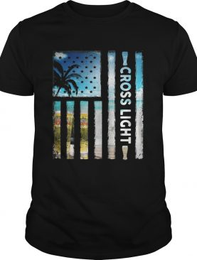 America Flag Cross Light sunshine shirt