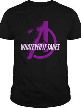 Avengers whatever it takes shirt