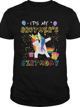 Awesome It's My Brother's Birthday Funny Kid T-Shirts