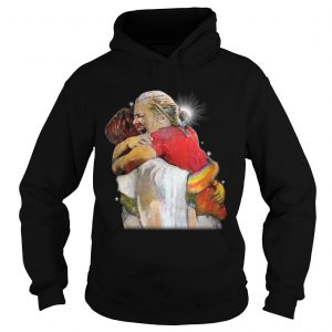 Christian First Day in Heaven Hug Of God hoodie