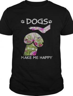 Cosmos seeds Dickhead Dog Noma Bar dogs make me happy shirt