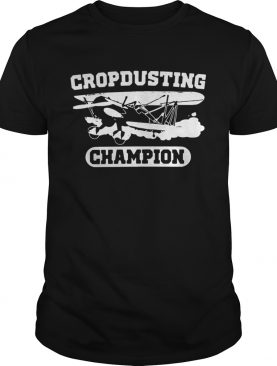 Crop Dusting Champion shirt