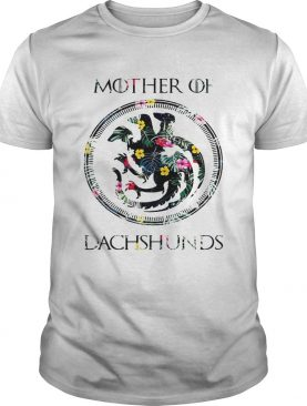 Flower mother of dachshunds game of throne shirt