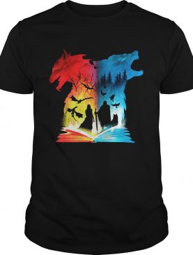 Game Of Thrones Book of fire and ice shirt