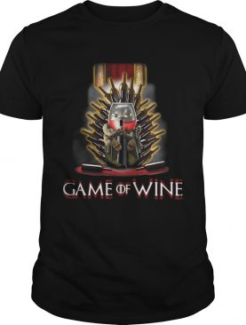 Game of Thrones Game of wine shirt