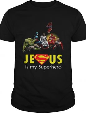 Jesus Is My Superhero tshirt