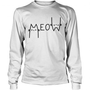 Official Cats meow longsleeve tee