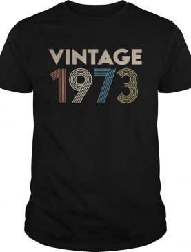 Official vintage 1973 shirts
