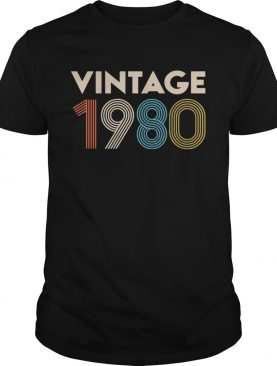 Official vintage 1980 shirts