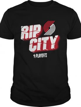 Portland Trail Blazers 2019 NBA Playoffs Rip city shirt