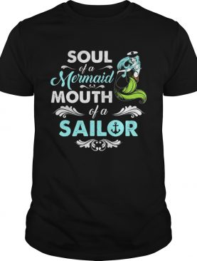 Soul Of Mermaid Mouth Of A Sailor Hippie T-shirts