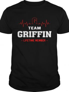 Team Griffin lifetime member shirts