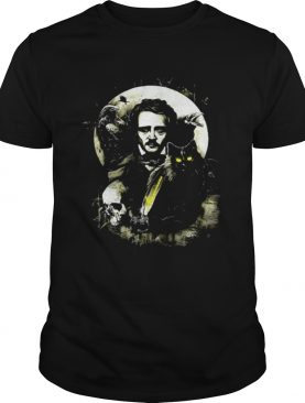 The Raven and The Black Cat Edgar Allan Poe shirts