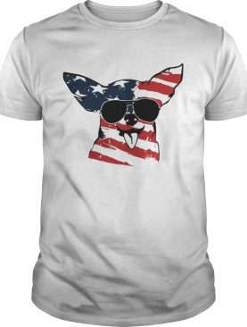 4th Of July Chihuahua American Flag Shirt