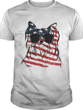 4th Of July Yorkshire Terrier American Flag Shirt