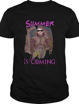 Arya Stark summer is coming Game of Thrones shirt