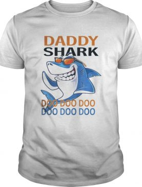 Awesome Daddy Shark with Sunglass Doo Doo Father's Day tshirt