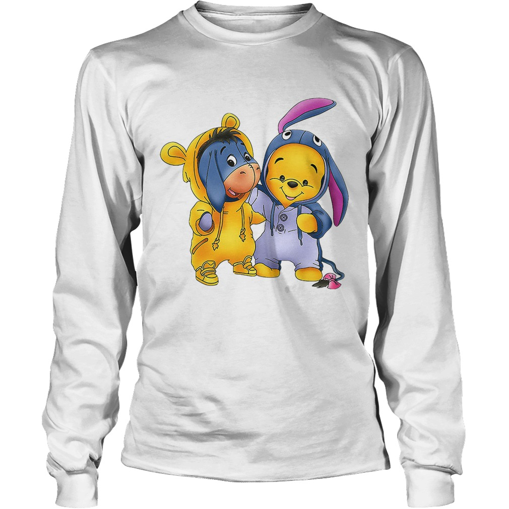 00fcb4f1 Baby Pooh and Eeyore Winnie the Pooh shirt - Trend T-Shirt