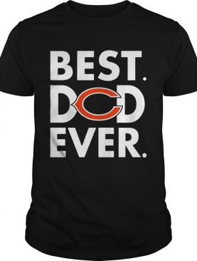 Best Dad Ever Chicago Bears Father's Day Shirt