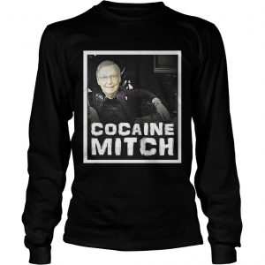 Cocaine Mitch McConnell longsleeve tee