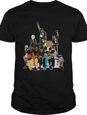 Colin Kaepernick 1968 Olympics black power shirt
