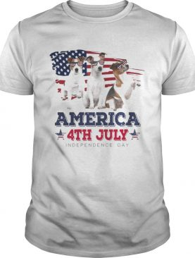 Cool Parson Russell America 4th July Independence Day T-shirt