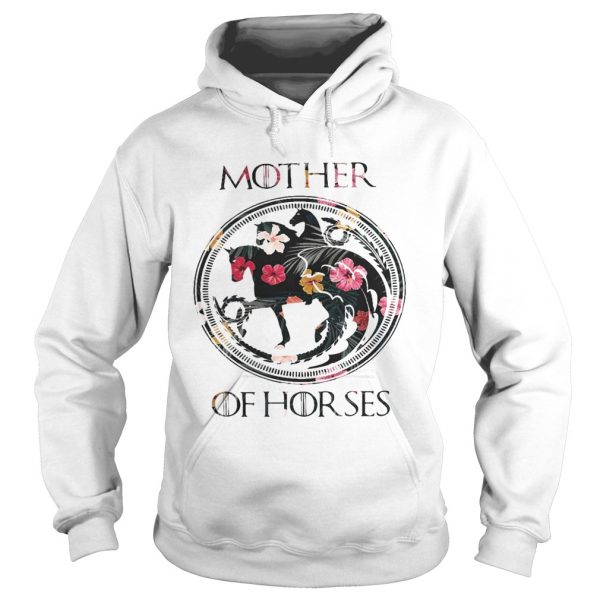 Game Of Thrones mother of horse flower hoodie