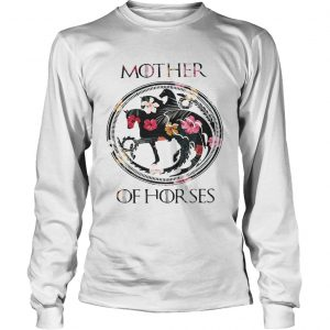 Game Of Thrones mother of horse flower longsleeve tee