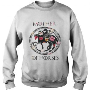 Game Of Thrones mother of horse flower sweatshirt