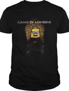 Game of Minions Iron throne shirt