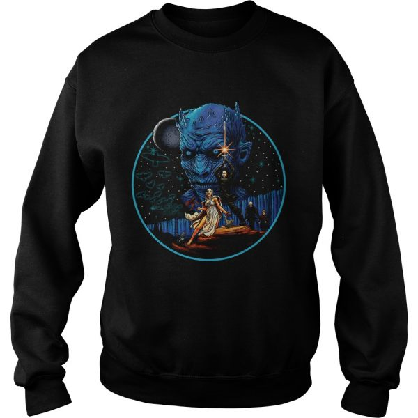 Game of Thrones Jon Snow Daenerys Targaryen and The Night King sweatshirt